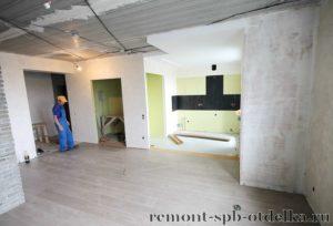 Ремонт однокомнатных квартир под ключ в Санкт-Петербурге