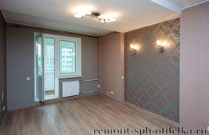 Ремонт 1 комнатных квартир под ключ в СПб