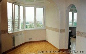 Отделка 3 комнатных квартир под ключ в Санкт-Петербурге
