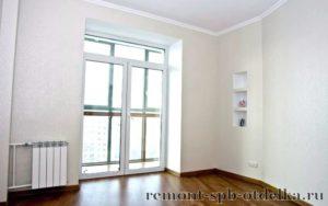 Отделка трехкомнатных квартир под ключ в Санкт-Петербурге