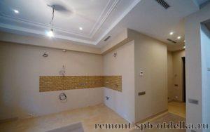 Отделка 3 комнатных квартир под ключ в СПб
