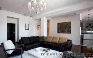 Отделка четырехкомнатных квартир под ключ в Санкт-Петербурге