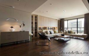 Ремонт трехкомнатных квартир под ключ в СПб