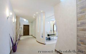 Ремонт 3-х комнатных квартир под ключ в СПб