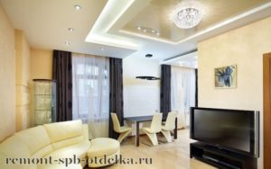 Ремонт 4-х комнатных квартир под ключ в СПб