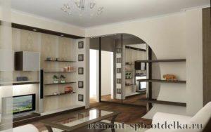 Ремонт четырехкомнатных квартир под ключ в СПб