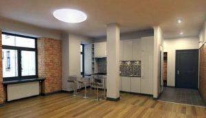 Отделка двухкомнатных квартир под ключ в Санкт-Петербурге
